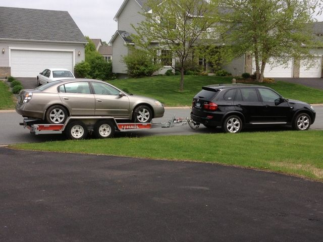 2003 bmw x5 towing capacity