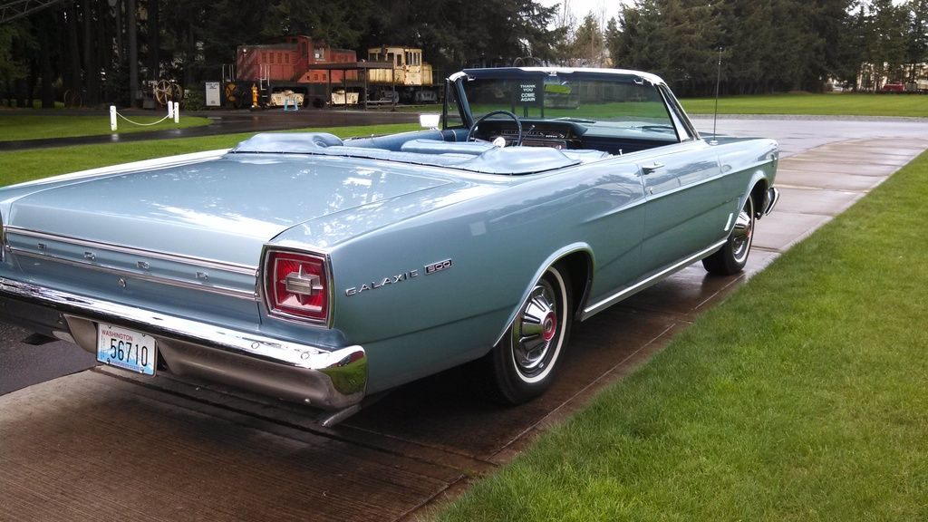 Sell Used 1966 Ford Galaxie 500 Convertible Only 11k