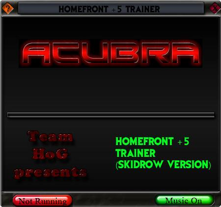 homefrontv1001trainerpl Homefront v1.0.0.1 +5 Trainer