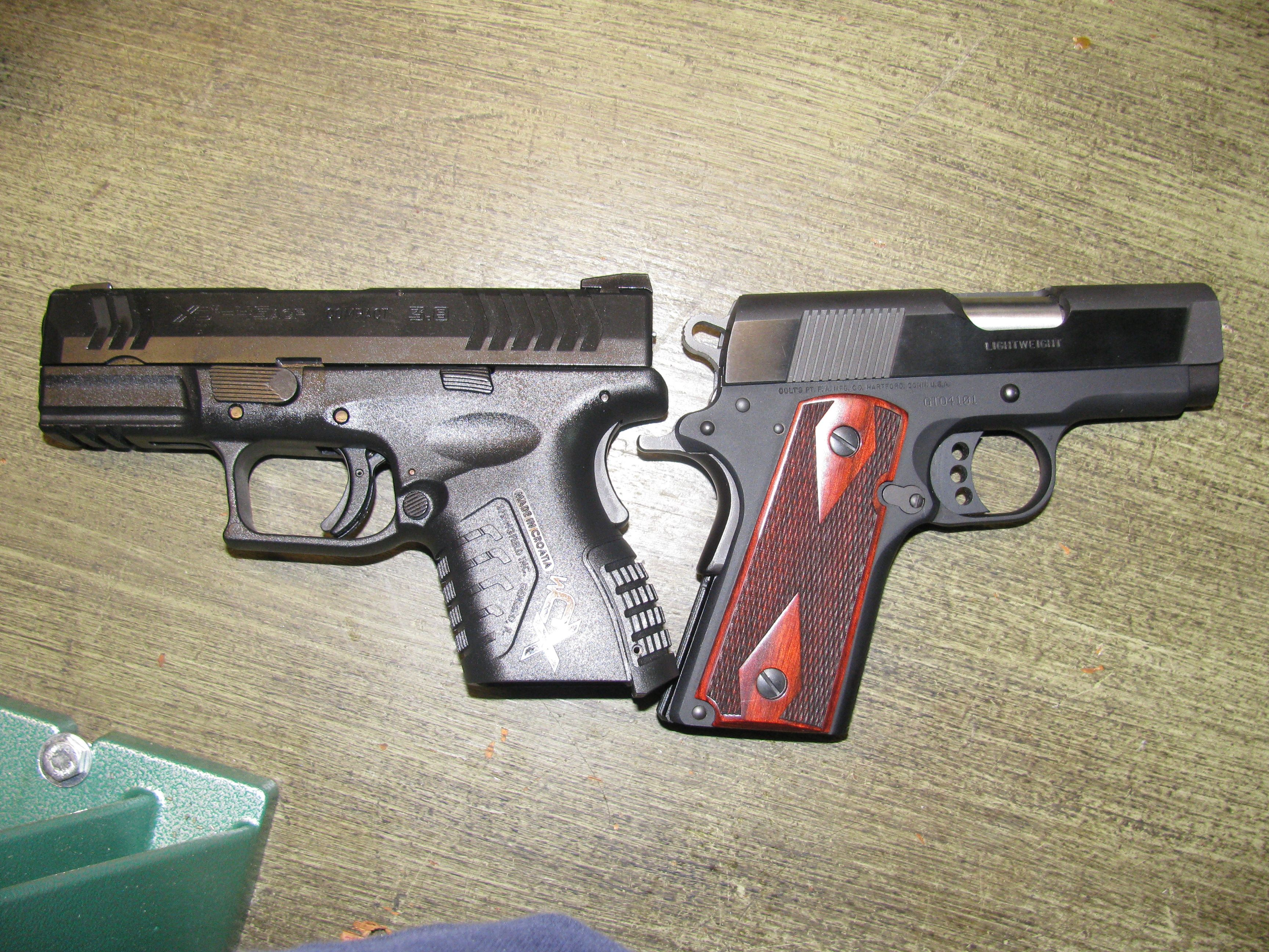 Xdm 45 compact recoil? - XD Forum