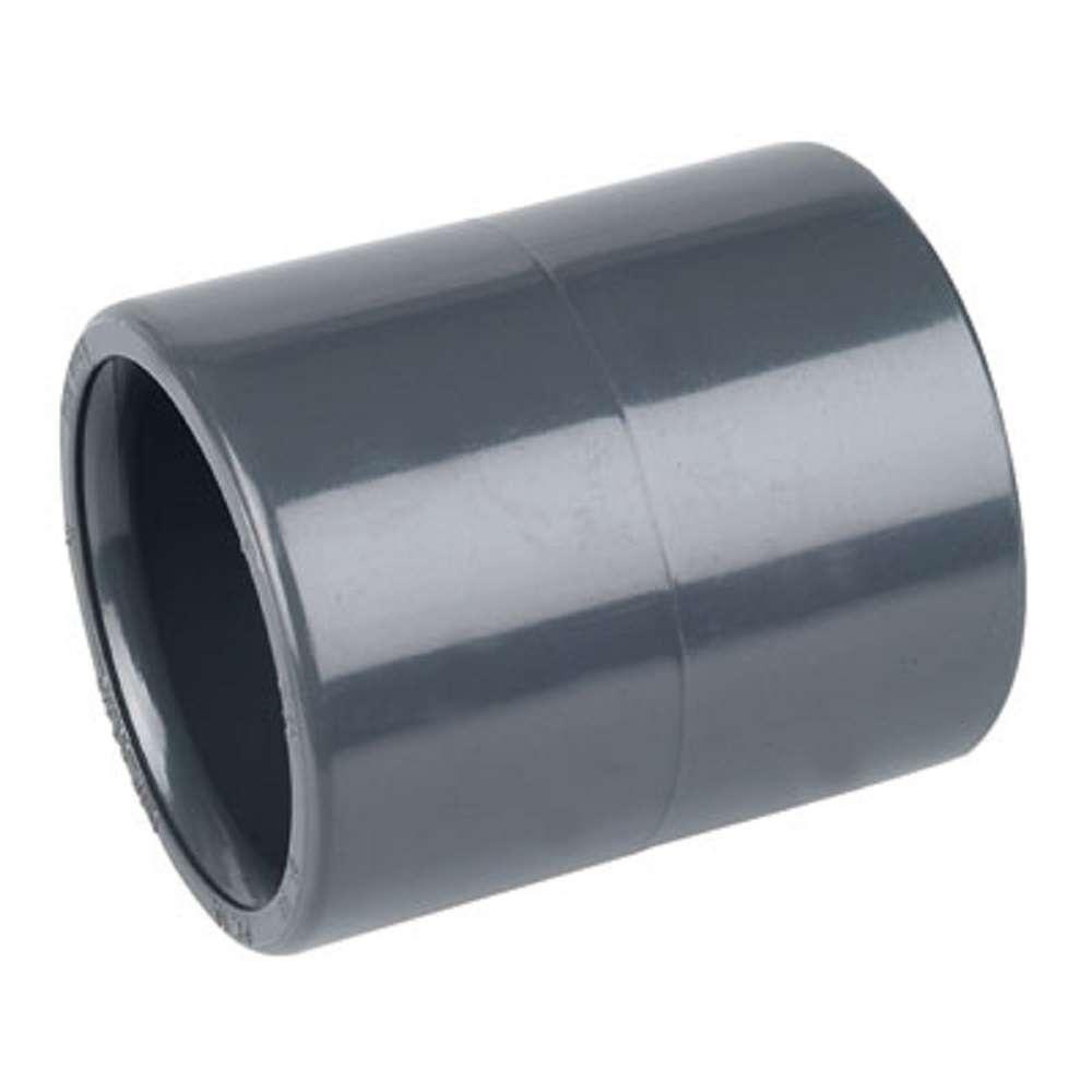 2x manchon pvc 25 ff pression coller raccord piscine for Pvc pression piscine