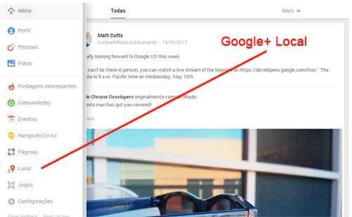 Google Plus (Google+) Local
