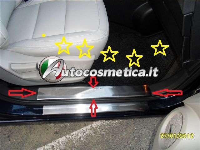Battitacco Nissan Qashqai Interno Acciaio Inox Ebay