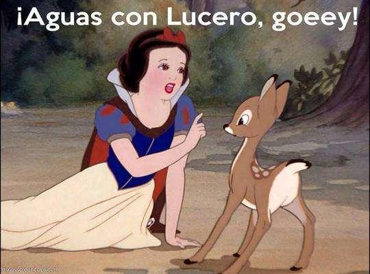 Lucero y Blanca Nieves