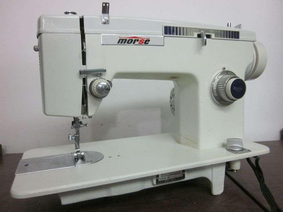 Morse Heavy Duty Zig Zag Sewing Machine Denim Vinyl Canvas