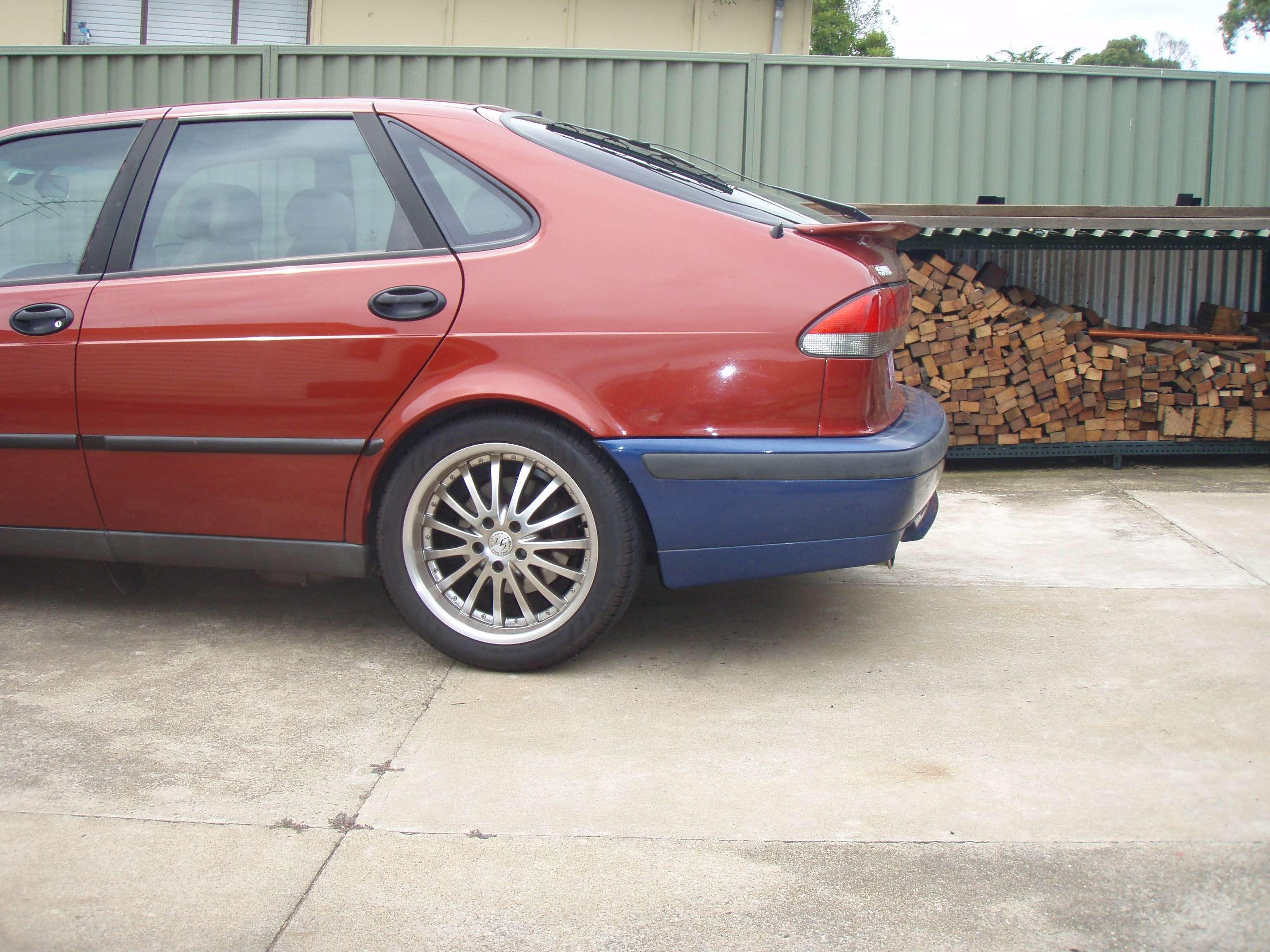 Rear bumper swap - The Saab Link Forums