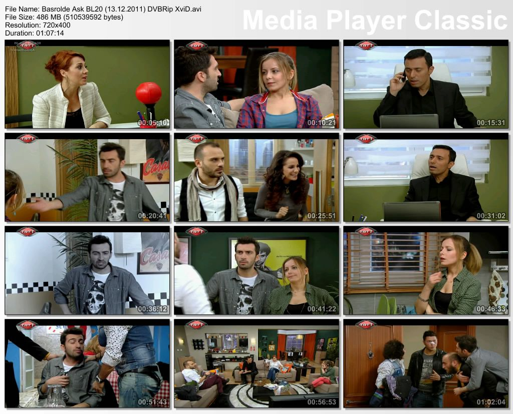 Başrolde Aşk Bölüm 20 DVBRip XviD Tek Link indir